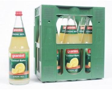 GRANINI Zitronensaft 100% 6x1,0l (MEHRWEG)
