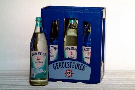 GEROLSTEINER Medium 6/1,0 Glas (MEHRWEG)