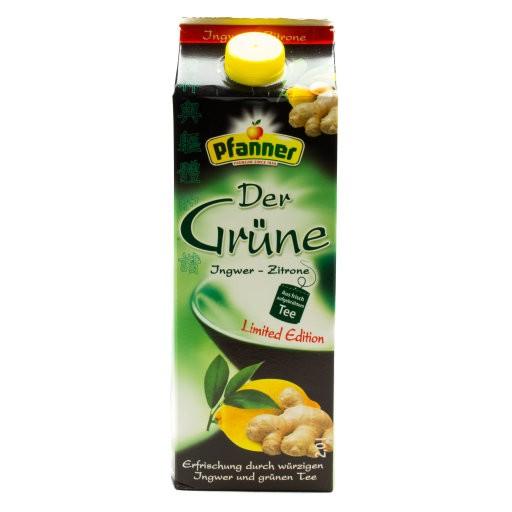 Grüner Tee - Ingwer/Zitrone Edition 2L
