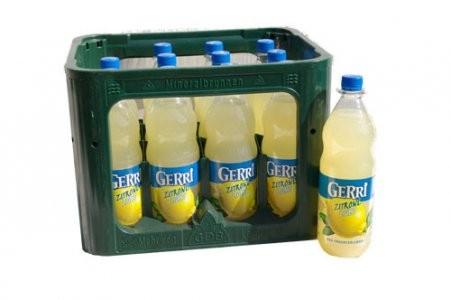 GERRI Zitrone Light 12/1,0 PET (MEHRWEG)