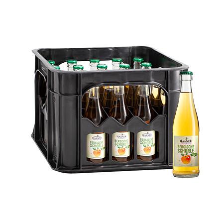 HAANER Apfelschorle 20x0,275l (MEHRWEG)