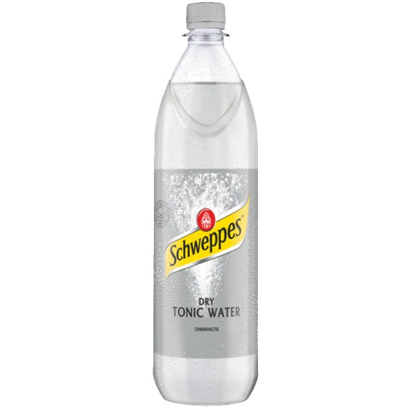 Schweppes Dry Tonic Water 6x1L (PET)