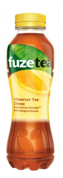 Fuzetea Schwarzer Tee Zitrone 4x0,4L (PET)