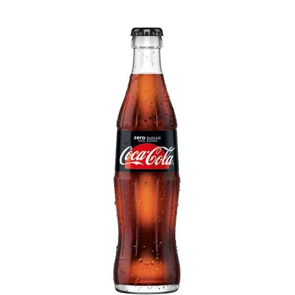 Coca Cola Zero 24 x 0,33L (Glas)