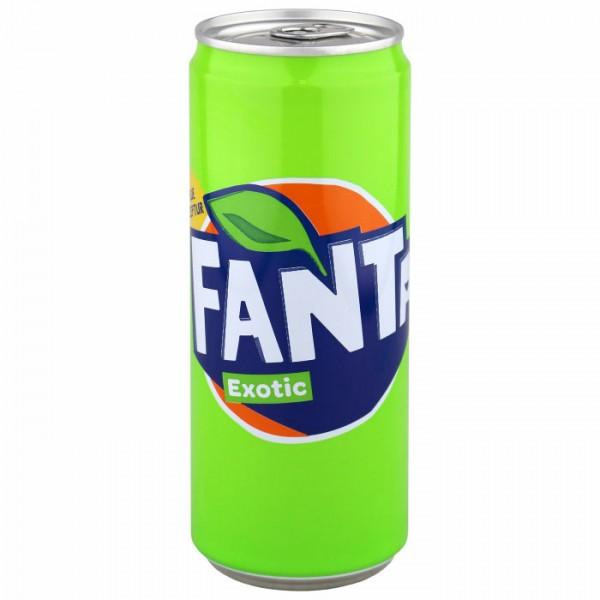 Fanta Exotic 4x0,33L (DOSE)