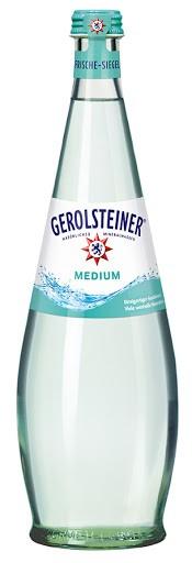 Gerolsteiner Gourmet Medium 24x0,25L (GLAS)