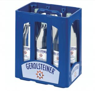 GEROLSTEINER classic 6x1,0 Glas (MEHRWEG)