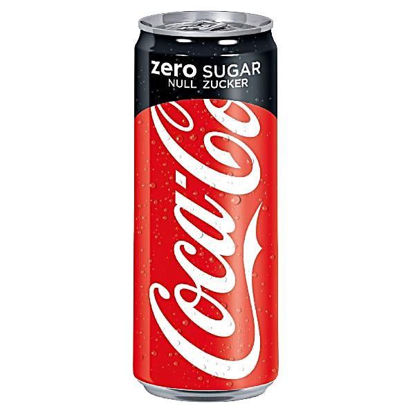 Coca Cola Zero 4x0,33L (DOSE)