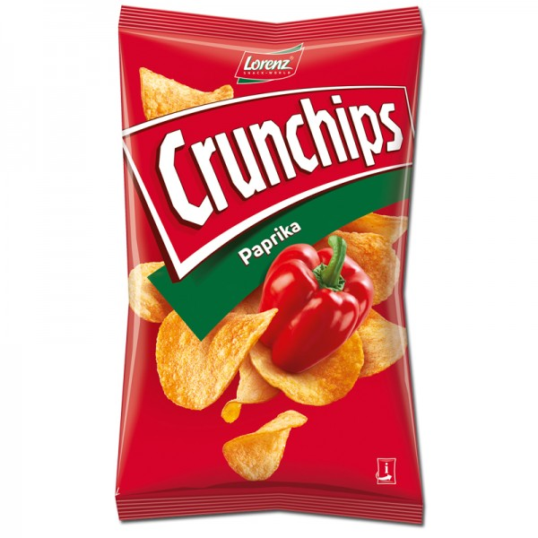 Crunchips Paprika 175g