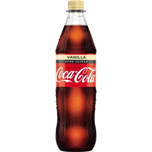 Coca Cola Vanilla 12x1L (PET)