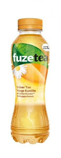 Fuzetea Grüner Tee Mango Kamille 4x0,4L (PET)