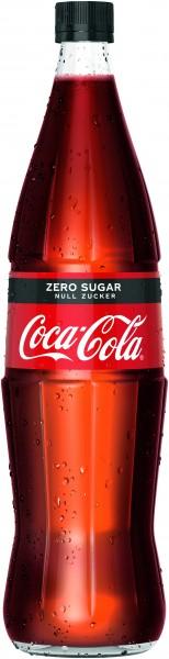Coca Cola Zero 6x1L (GLAS)