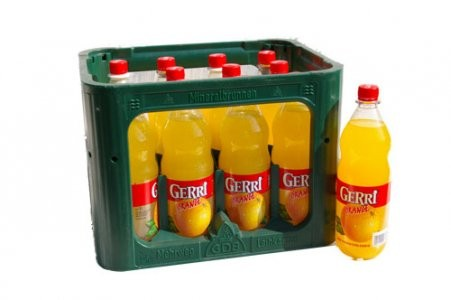 GERRI Orange 12/1,0 PET (MEHRWEG)