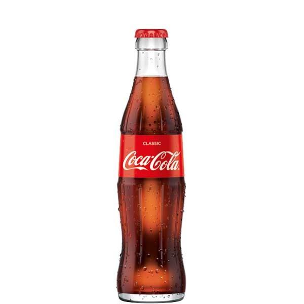 Coca Cola 24 x 0,33L (Glas)