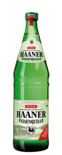 Haaner Felsenquelle 12x 0,75L Medium